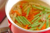 焼き明太ゴボウサラダの作り方1