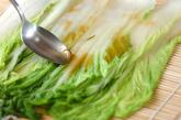 白菜のロール酢の物の作り方2