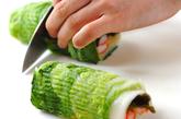 白菜のロール酢の物の作り方4