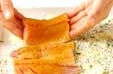サバのパン粉焼きの作り方2