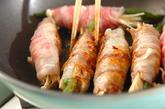 キノコの豚肉巻きの作り方2