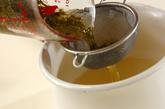 煎茶かん小豆汁粉の下準備1