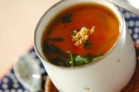 豆腐入りあんかけ茶碗蒸し