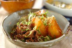 大根と牛肉の韓国すき煮