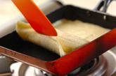 ホットバナナロールケーキの作り方3