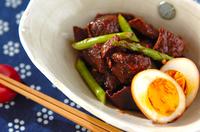 牛肉と卵のしょうゆ煮