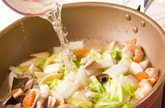 揚げ麺あんかけの作り方3
