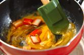 カニカマと卵のオイスター炒めの作り方3
