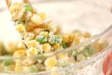 枝豆とコーンの落とし揚げの作り方1