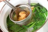 小松菜のみそ汁の作り方2