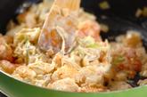 イカとエビのマヨ炒めの作り方3