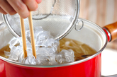 葛きりの中華スープの作り方2