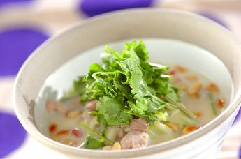 サムゲタン風スープご飯