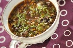 ヒジキのトロミスープ