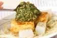豆腐ステーキニラソースの作り方3