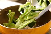 中華風キュウリ炒めの作り方3