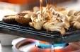 焼きキノコのタコ和えの作り方1