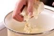 タラコ豆腐汁の作り方1