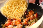 しらすとトマトのパスタの作り方3