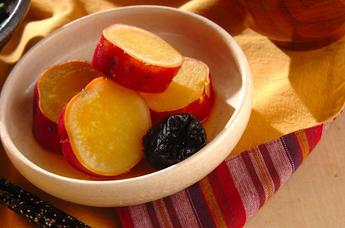 サツマイモのハニーオレンジ煮