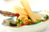 湯葉の梅ダレサラダの作り方2