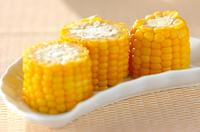 塩ゆでトウモロコシ