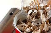 キノコ丼の作り方2