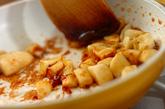 バナナミルク&キャラメルソースの台湾風かき氷の作り方3