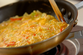 甘酢あんかけカニ玉の作り方3