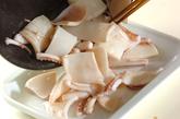 イカのピリ辛炒めの作り方1