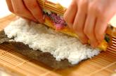 巻き寿司(恵方巻き)の作り方7