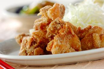 シンプル鶏の唐揚げ