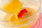 ハチミツのマドレーヌの作り方2