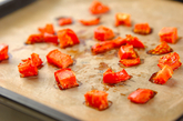 カレートマトチーズパンの下準備1