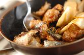 揚げサバの照り焼き丼の作り方2