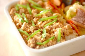 豆腐そぼろご飯