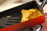 具だくさんの卵焼きの作り方1