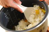 お漬け物混ぜご飯の作り方1