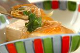 温豆腐の野菜あんかけの作り方3