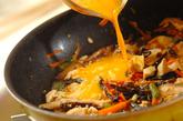 ふんわり卵の炒り豆腐の作り方2