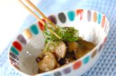 ナスのカラシ炒めの作り方2