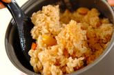 鶏肉の洋風炊き込みご飯の作り方3