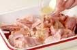 鶏の唐揚げの下準備3