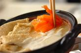 重曹でとろとろ湯豆腐の作り方2