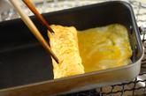塩麹入りだし巻き卵の作り方2