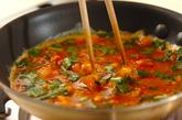 キムチとニラの卵焼きおにぎらずの作り方1
