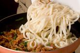 豚キムチの焼きうどんの作り方3