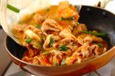 豚キムチの卵焼きの作り方3