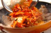 豚キムチの卵焼きの作り方2