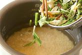 もちもち山菜おこわの作り方1